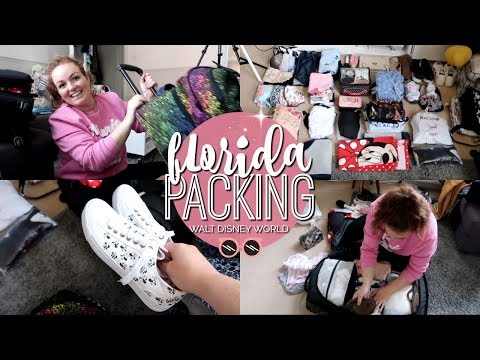 PACK WITH ME: WALT DISNEY WORLD EDITION! 🎒 | Brogan Tate