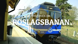 History of the Roslagsbanan - Local Rail Lines in Stockholm - Episode 3/7 (English subtitles)