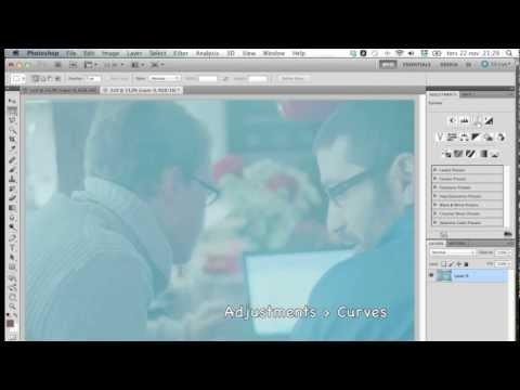Photoshop tutorial : как сделать из негатива пленки позитив