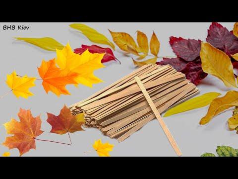 Картинки из осенних листьев своими руками для детского сада
