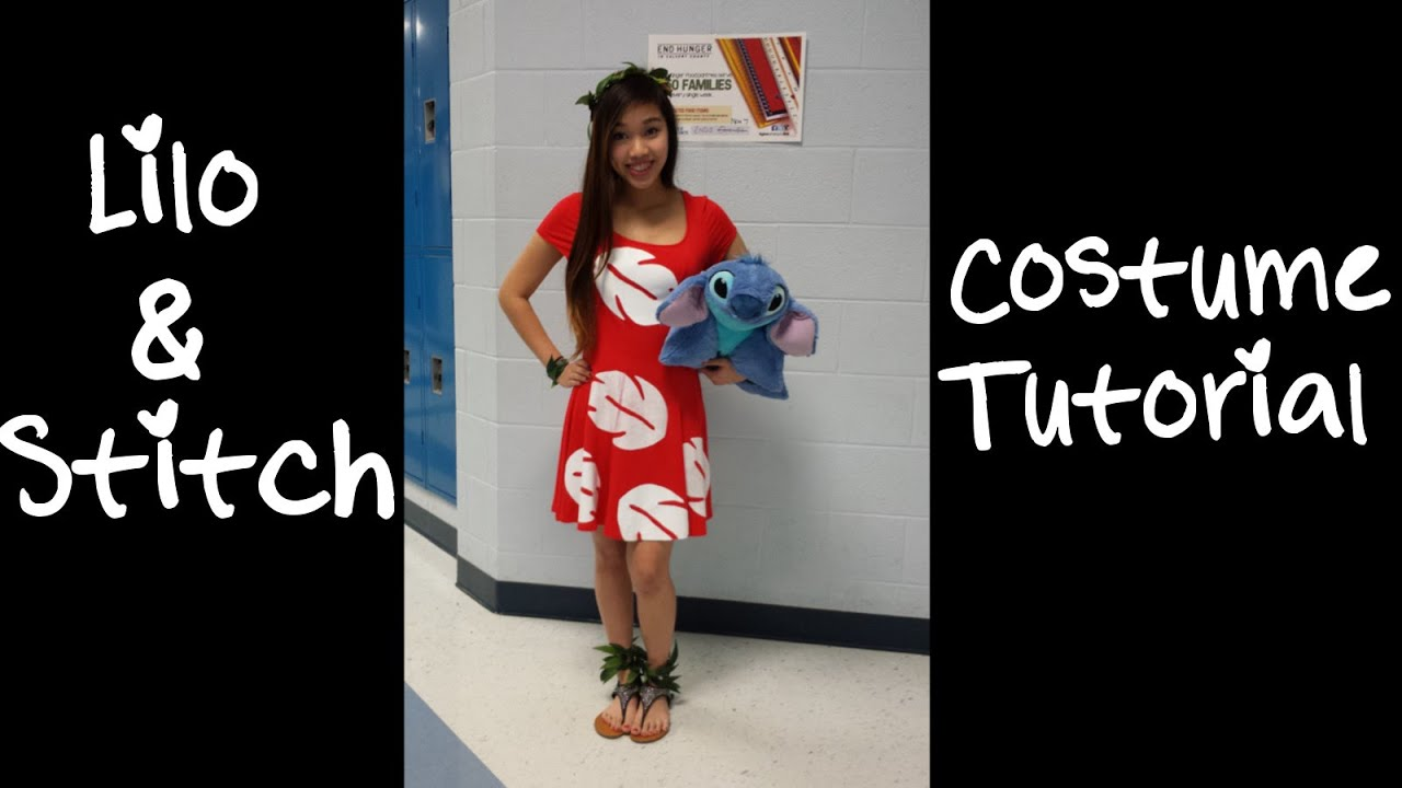 sc 1 st  YouTube : lilo costume pattern  - Germanpascual.Com