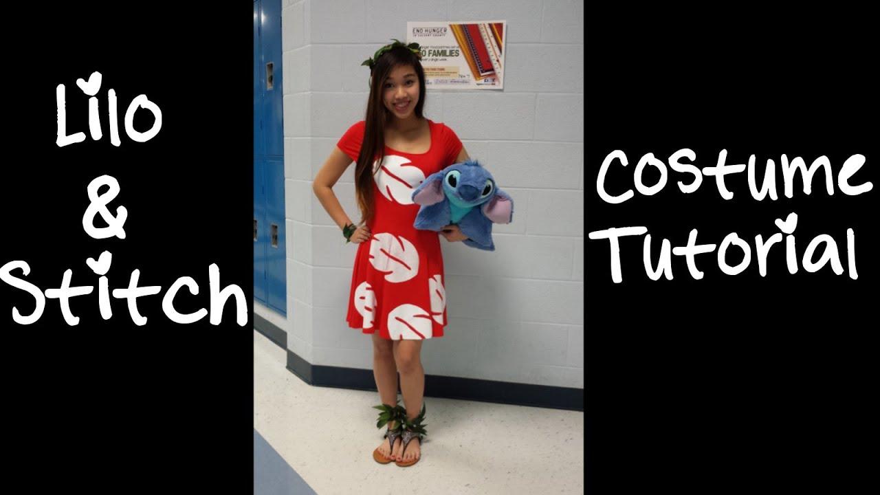 Disney S Lilo Costume Tutorial Youtube
