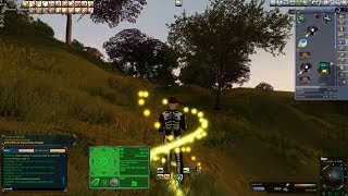 Mining with level 13 amp in Entropia Universe