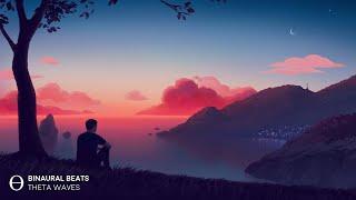 [ Stress - Anxiety ] HEALING RELAXATION Theta Waves l Sleep Meditation Music - Binaural Beats