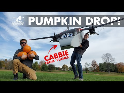 Dropping Pumpkins from a GIANT RC Plane 💣
