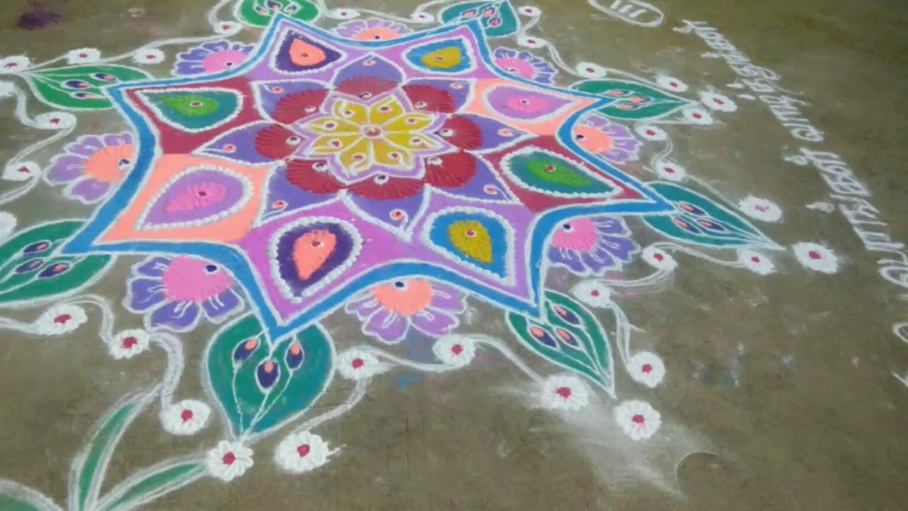 #rangolikolam #pongalfestivalkolam  Rangoli kolangal  pongal festival kolangal