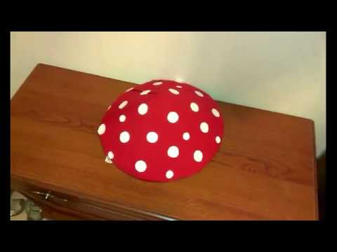 Как сшить шапочку мухомора