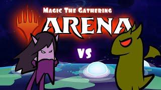 Alela vs Korvold - MTG Arena Brawl Cartoon
