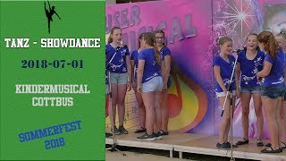 Cottbuser Kindermusical Sommerfest 2018 - Minichor 1
