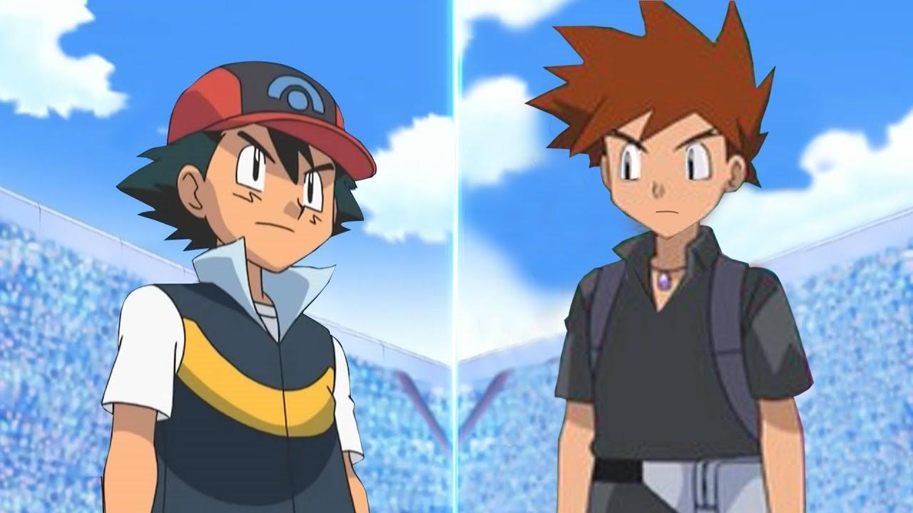 Pokemon Battle Usum Sinnoh Ash Vs Gary Pokemon Rival Youtube