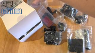 SJCAM SJ5000 Action Camera WIFI unboxing