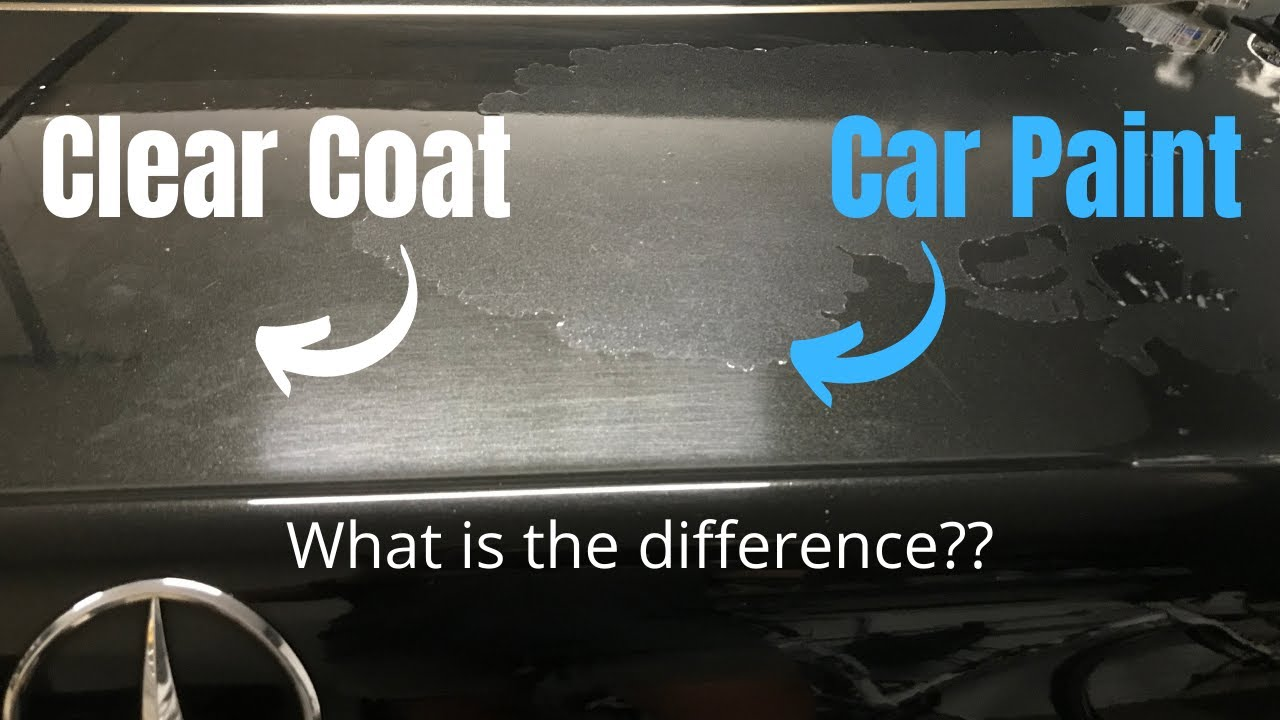 Car Paint vs. Clear Coat: What is the difference between car clear coat and car paint?