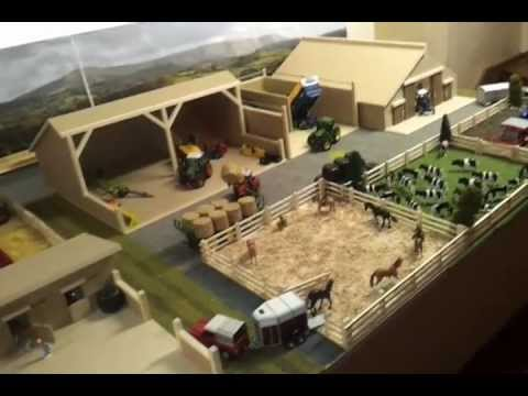 Model farm display. (RoseCraft Models.) - YouTube