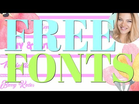 Download Your Own fonts for designing