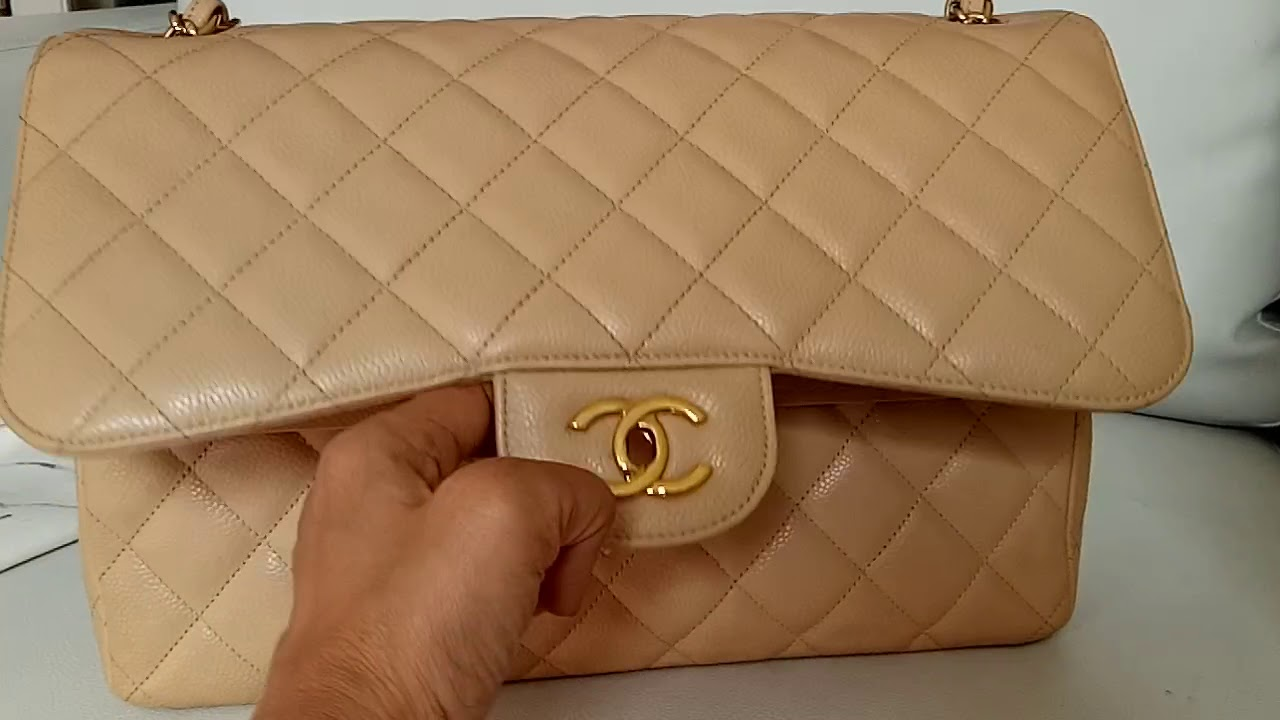 Tas Preloved Chanel Original Second Authentic Bag - YouTube 558062be1f