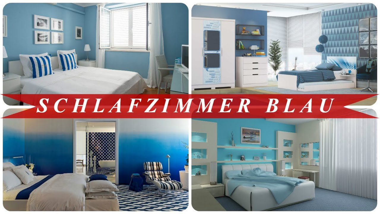 schlafzimmer blau youtube. Black Bedroom Furniture Sets. Home Design Ideas