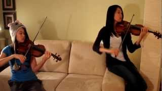 Diamonds- Girl on Fire Violin Mashup Cover (Rihanna ft. Alicia Keys)