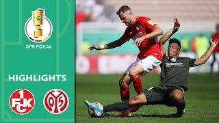 Mainz knocked out in tough derby | Kaiserslautern vs. Mainz 2-0 | Highlights | DFB-Pokal | 1st Round