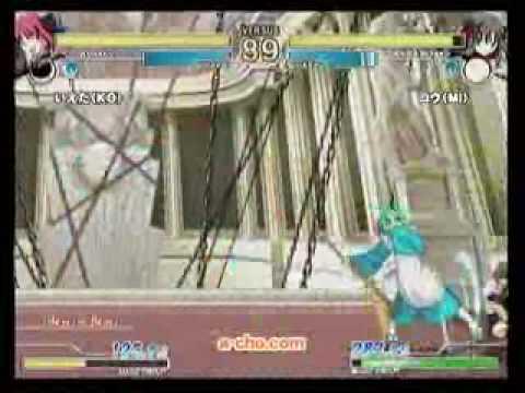 10/10 a-cho MBAA Ver.A - Ieda(C-Kohaku) vs. Kou(F-Miyako)