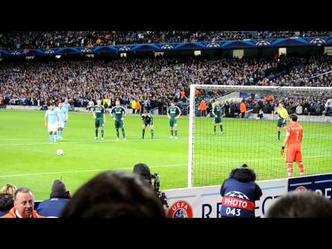 Aguero, Manchester City vs Real Madrid 1:1, Penalty Kick