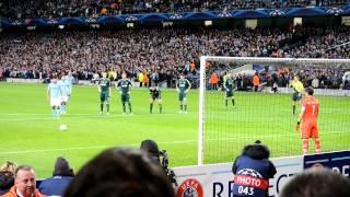 Aguero, Manchester City vs Real Madrid 1:1, Penalty Kick