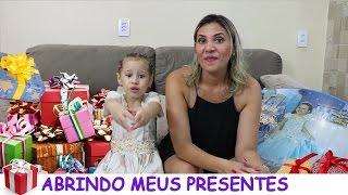 ABRINDO MEUS PRESENTES DA FESTA DE 2 MILHÕES