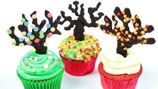 Cupcake Decorating Ideas | Thanksgiving Cupcakes | DIY Holiday Desserts by  Hooplakidz Recipes