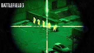 Battlefield 3 Mission 9 Night Shift [ultra 60fps]