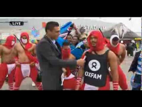 Tongan Ninjas strong for Ha'apai Relief