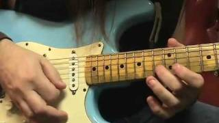 Electric Guitar Sweep Picking Lesson Howie Simon FPE-TV