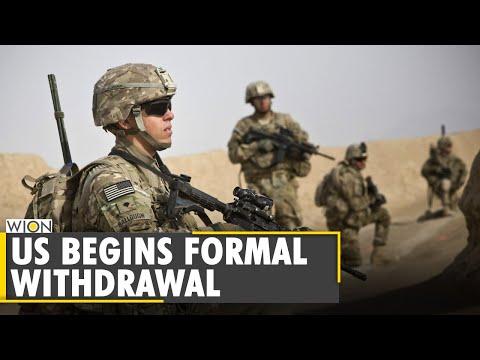 NATO troops leaving Afghanistan as fighting escalates | Taliban | Joe Biden | Latest English News
