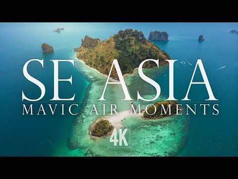 Mavic Air Drone Scenes from Southeast Asia (4K)