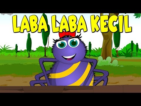 Laba Laba Kecil | Lagu Anak Terppuler Indonesia | Itsy Bitsy Spider in Bahasa Indonesia