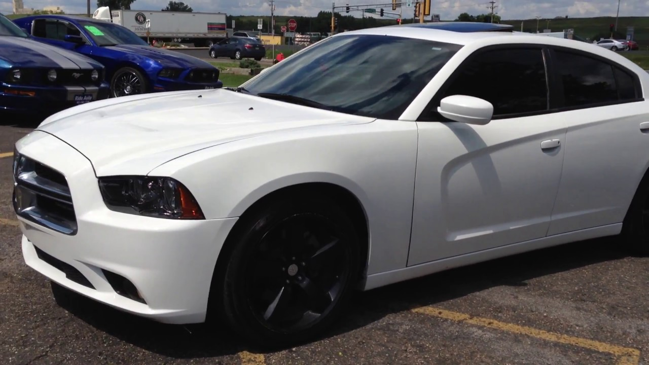Rt 9 Auto Sales >> 2013 White Dodge Charger RT 17231 - YouTube