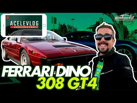FERRARI 1975 ANDA BEM? CASSIO ACELERA A 308 GT4 E VISITA O SUPERCAR SUNDAYS! ACELEVLOG #32