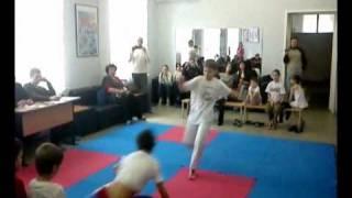 Соревнования капоэйра дети