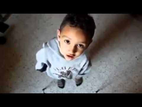 طفل جزائري مهبول