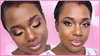 DAY TO NIGHT TIME CUT CREASE MAKEUP LOOK | KORAL BEAUTY