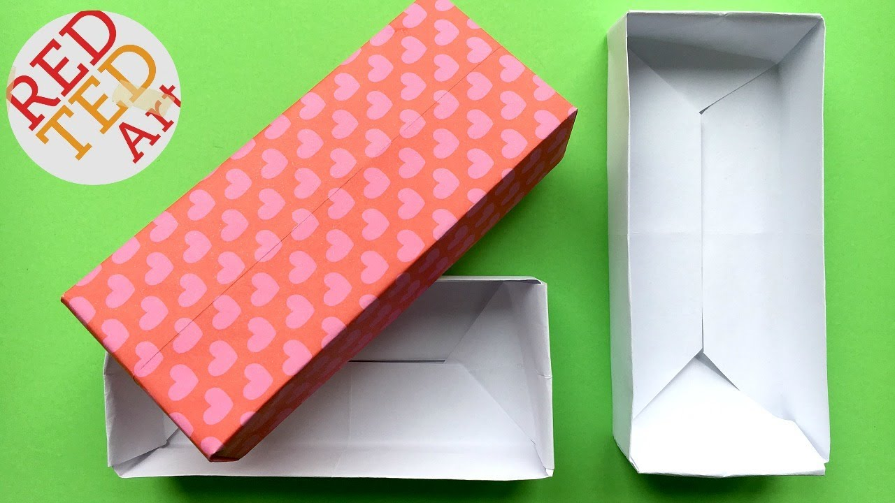 paper rectangle box template