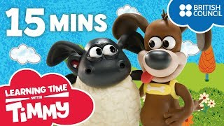 Meet the Characters Compilation | Learning Time with Timmy