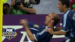 53rd Most Memorable FIFA World Cup Moment: Argentina's Team Goal | FOX SOCCER