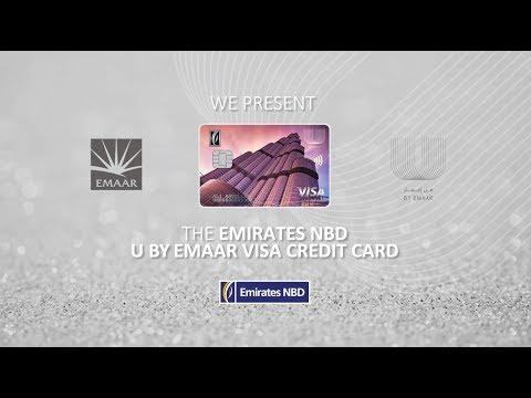 Emirates NBD U By Emaar Visa Credit Cards - بطاقات الائتمان فيزا من إعمار وبنك الإمارات دبي الوطني