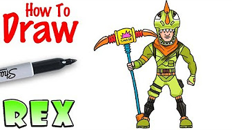 How To Draw Fortnite Charachters Youtube