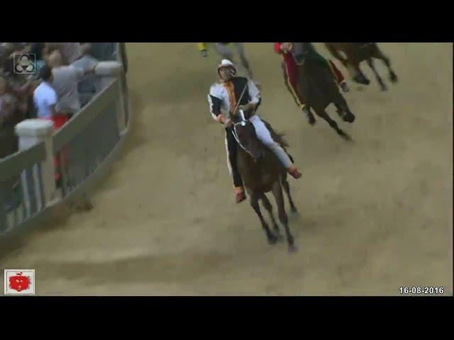 Palio di Siena 16 Agosto 2016 Vince la LUPA Palio dell'Assunta