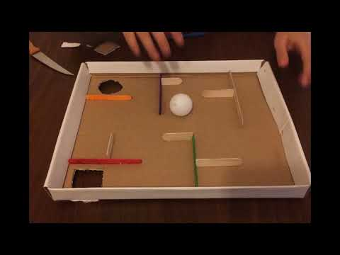 Labirent Oyunu Nasıl Yapılır? | How to Make Labyrinth Game for Kids