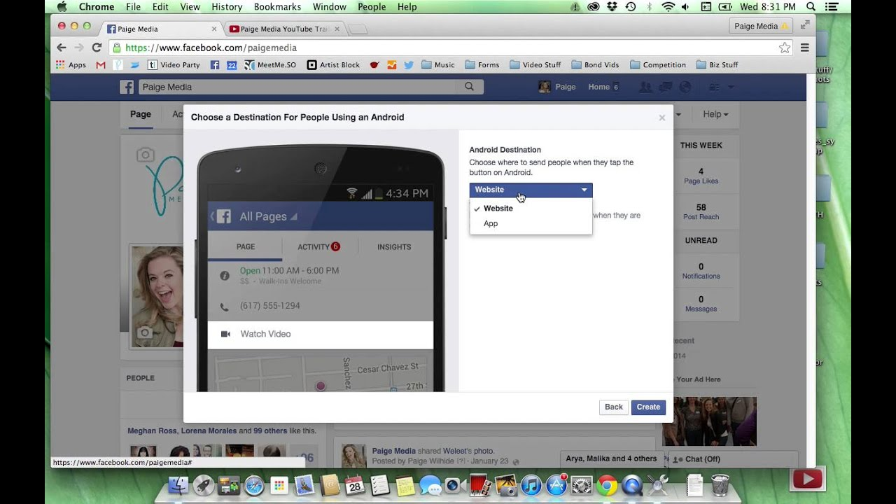 New Facebook Feature-- Add a Call to Action to Your Facebook Business Page