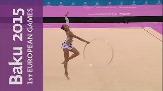 Margarita Memun stars in the Individual Hoop | Rhythmic Gymnastics | Baku 2015