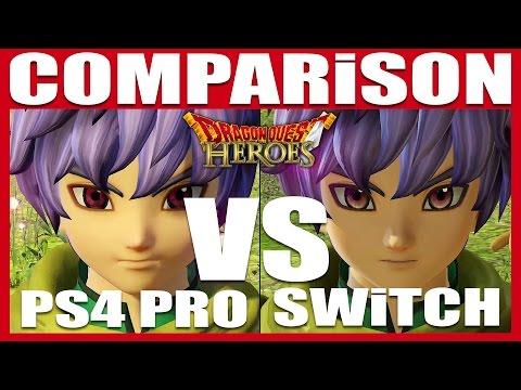 Generate COMPARISON | Dragon Quest Heroes 1&2 | Switch VS. PS4 Pro Screenshots