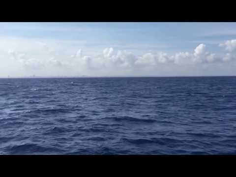 Sailing on Snowcat to Cuba