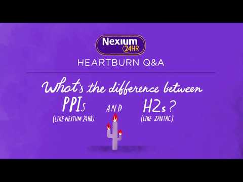 Difference Between PPIs And H2s - Find Relief With Nexium® 24HR